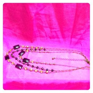 Jewelry - Necklace Olivine & Amethyst Color